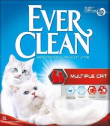 Ever Clean - Ever Clean Multiple Cat Kedi Kumu 6 Litre