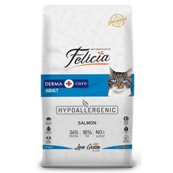 Felicia - Felicia Düşük Tahıllı Somonlu Hypoallergenic Kedi Maması 12 Kg. (1)
