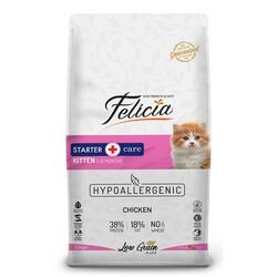 Felicia - Felicia Düşük Tahıllı Tavuklu Hypoallergenic Yavru Kedi Maması 12 Kg.