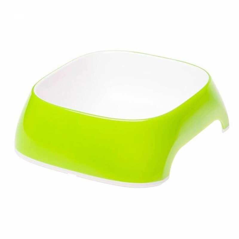Ferplast - Ferplast Glam Medium Melamin Mama Kabı Yeşil 720 Ml.
