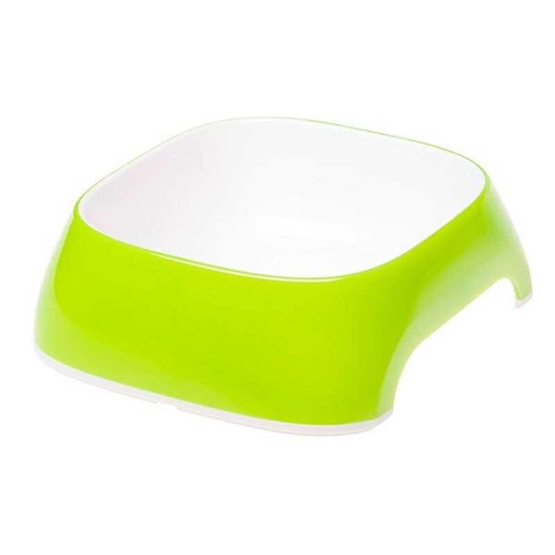 Ferplast - Ferplast Glam Small Melamin Mama Kabı Yeşil 400 Ml.