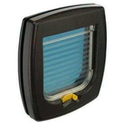 Ferplast - Ferplast Swing 1 Kahverengi Kedi Köpek Kapısı 14.8 X 14.5 Cm