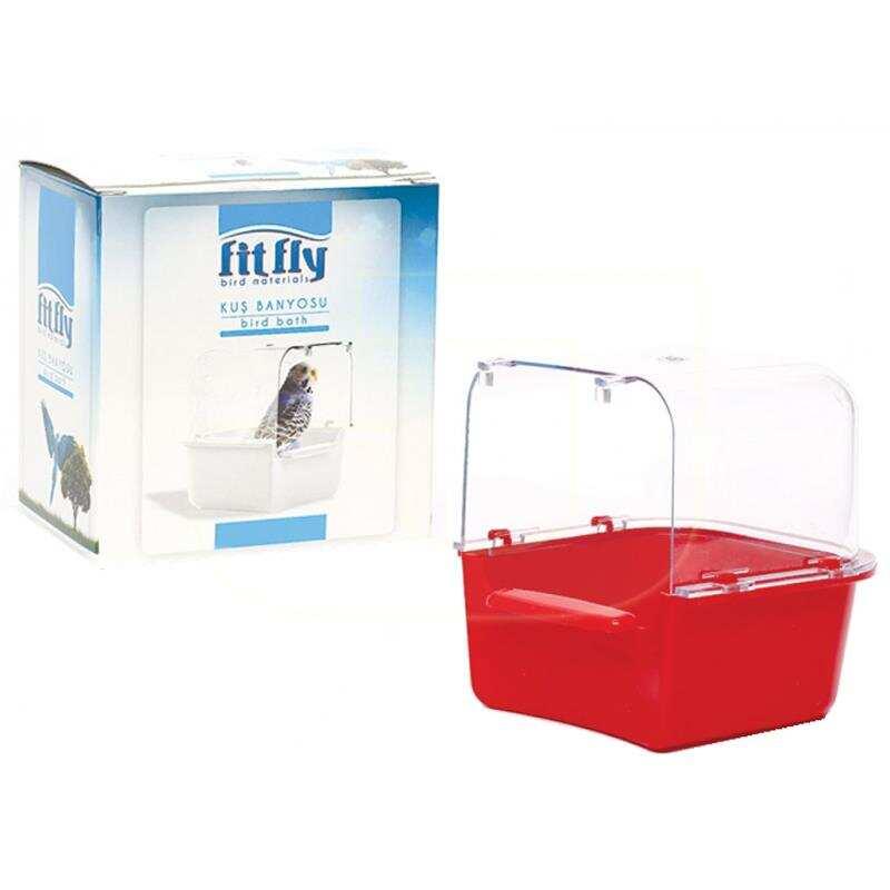 Fit Fly - Fit Fly Kapalı Kuş Banyosu 12,5x12x13 cm
