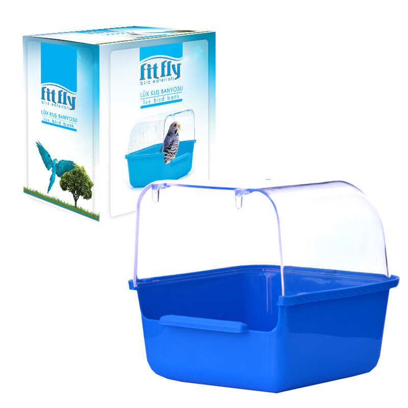 Fit Fly - Fit Fly Kapalı Kuş Banyosu 13,5x15,5x13,5 cm