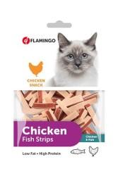 Flamingo - Flamingo Chick N Balık Sandviç Kedi Ödülü 85 Gr