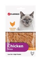 Flamingo - Flamingo Chick N Bites Tavuk Parçaları Kedi Ödülü 85 Gr