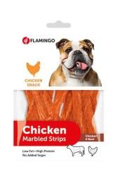 Flamingo - Flamingo Chick N Tavuk Ve Biftekli Çubuk Köpek Ödülü 85 Gr