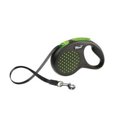 Flexi - Flexi Design Şerit Tipi Tasma Small Yeşil 5M