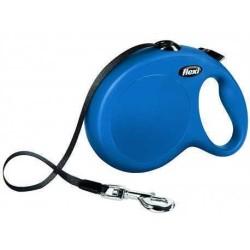 Flexi - Flexi New Classic Otomatik Mavi Şerit Gezdirme Large 5 Mt