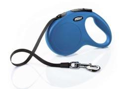 Flexi - Flexi New Classic Otomatik Mavi Şerit Gezdirme Medium 5 Mt (1)