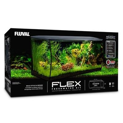Fluval Flex Akvaryum 123 Litre Siyah