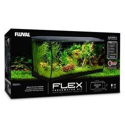 Fluval Flex Akvaryum 123 Litre Siyah - Thumbnail