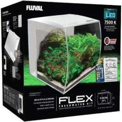 Fluval - Fluval Flex Akvaryum 34 Litre Beyaz