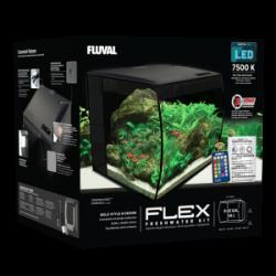 Fluval - Fluval Flex Akvaryum 34 Litre Siyah