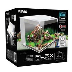 Fluval - Fluval Flex Akvaryum 57 Litre Beyaz