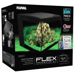 Fluval Flex Akvaryum 57 Litre Siyah - Thumbnail