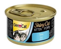 GimCat - Gimcat Shinycat Ton Balıklı Yavru Kedi Konservesi 70 Gr.