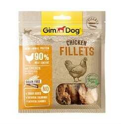 GimDog - Gimdog Fillets Tavuk Fileto Köpek Ödülü 60Gr (1)