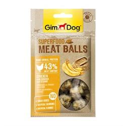 GimDog - Gimdog Meat Balls Muzlu Ve Susamlı Tavuk Köpek Ödülü 70 Gr.