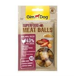 GimDog - Gimdog Meat Balls Tatlı Patatesli Ve Darılı Tavuk Köpek Ödülü 70 Gr (1)