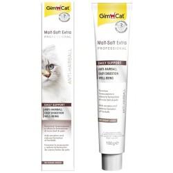 GimCat - Gimcat Kediler İçin Malt Soft Extra Pasta 100 Gr