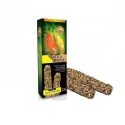 Gold Wings - Gold Wings Premium Ballı Kanarya Kraker 2Li Paket
