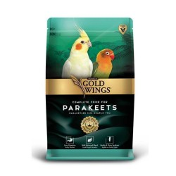 Gold Wings - Gold Wings Premium Paraket Tropikal Kuş Yemi 1 Kg