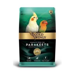 Gold Wings - Gold Wings Premium Paraket Tropikal Kuş Yemi 1 Kg (1)