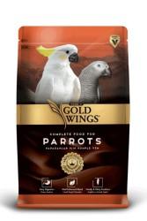 Gold Wings - Gold Wings Premium Yetişkin Papağanlar İçin Komple Yem 750 Gr