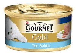 Pro Plan - Gourmet Gold Kıyılmış Ton Balıklı 85 Gr.