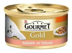 Pro Plan - Gourmet Gold Parça Etli Ve Soslu Alabalık Ve Sebzeli 85 Gr.