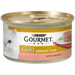 Pro Plan - Gourmet Gold Savoury Cake Somonlu Kedi Konservesi 85 Gr.