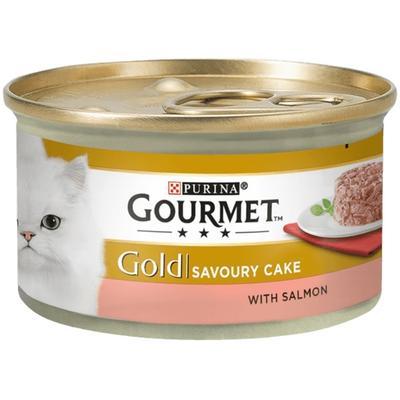 Gourmet Gold Savoury Cake Somonlu Kedi Konservesi 85 Gr.