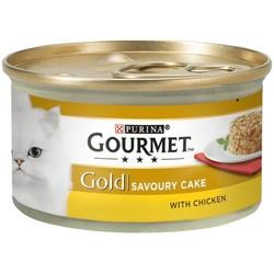 Gourmet Gold Savoury Cake Tavuklu Havuçlu Kedi Konservesi 85 Gr. - Thumbnail