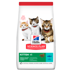 Hills - Hills Kitten Tuna Balıklı Yavru Kedi Kuru Maması Tuna 1,5 Kg.