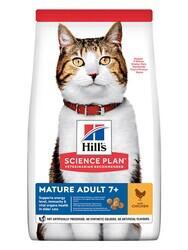 Hills Mature +7 Tavuklu Yaşlı Kedi Maması 1,5 Kg.