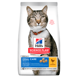 Hills - Hills Oral Care Kedi Ağız Bakımı Maması 1,5 Kg.