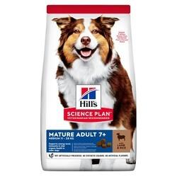 Hills - Hills Science Plan Mature +7 Tüm Irklar İçin Kuzu Etli Pirinçli Yaşlı Köpek Maması 14 Kg.