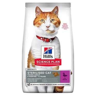 Hills - Hills Sterilised Ördekli Kısırlaştırılmış Kedi Maması 10 Kg.