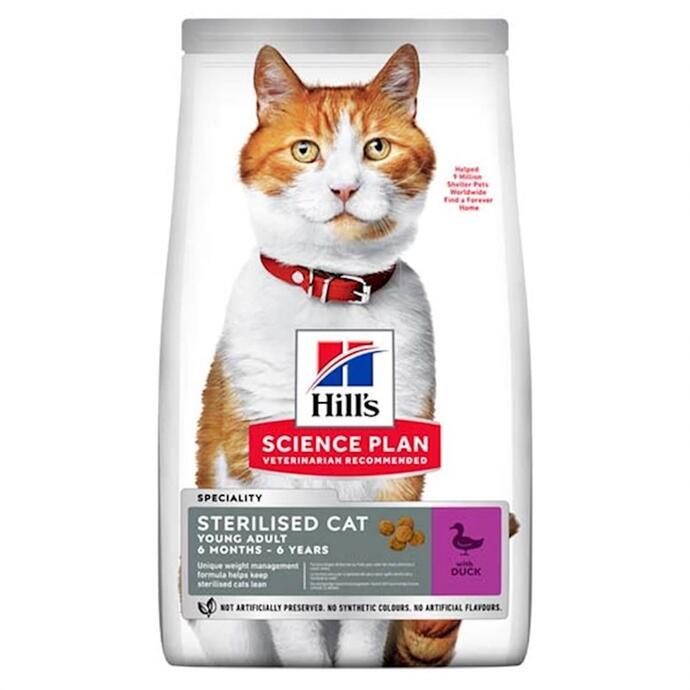 Hills Sterilised Ördekli Kısırlaştırılmış Kedi Maması 10 Kg.