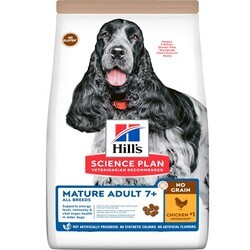 Hills Tahılsız - Hills Tahılsız Tavuklu Yaşlı Köpek Maması 12 Kg. (1)