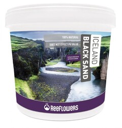 Reeflowers - Iceland Black Sand Kum (3-5Mm) 25Kg