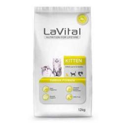 LaVital - Lavital Kitten Salmon Yavru Kedi Maması Somonlu 12 Kg.