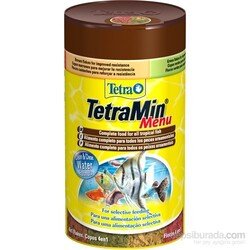 Tetra - Tetra Menü Food Mix 4 Çeşit Balık Yemi 1 Kutuda 100 ml