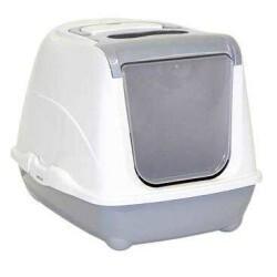 Moderna - Moderna Flip Kapalı Kedi Tuvalet Kabı 57 Cm Gri (1)