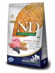 N&D PRIME - N&D Düşük Tahıllı Kuzu Etli Orta Irk Yetişkin Köpek Maması 2.5 Kg. (1)