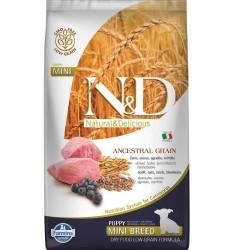 N&D L.GRAIN - N&D Düşük Tahıllı Kuzulu Küçük Irk Yavru Köpek Maması 2,5 Kg. (1)