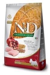 N&D L.GRAIN - N&D Düşük Tahıllı Senior Tavuklu Küçük Irk Yaşlı Köpek Maması 2.5 Kg. (1)