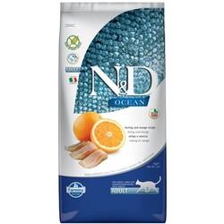 N&D OCEAN - N&D Ocean Balık Ve Portakallı Tahılsız Kedi Maması 5 Kg.