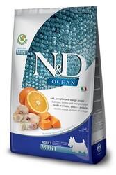 N&D OCEAN - N&D Ocean Balıklı Ve Balkabaklı Tahılsız Küçük Irk Yetişkin Köpek Maması 2.5 Kg.